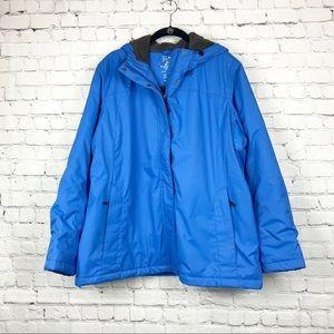 NWOT L.L. Bean | Light Blue Winter Coat Perka